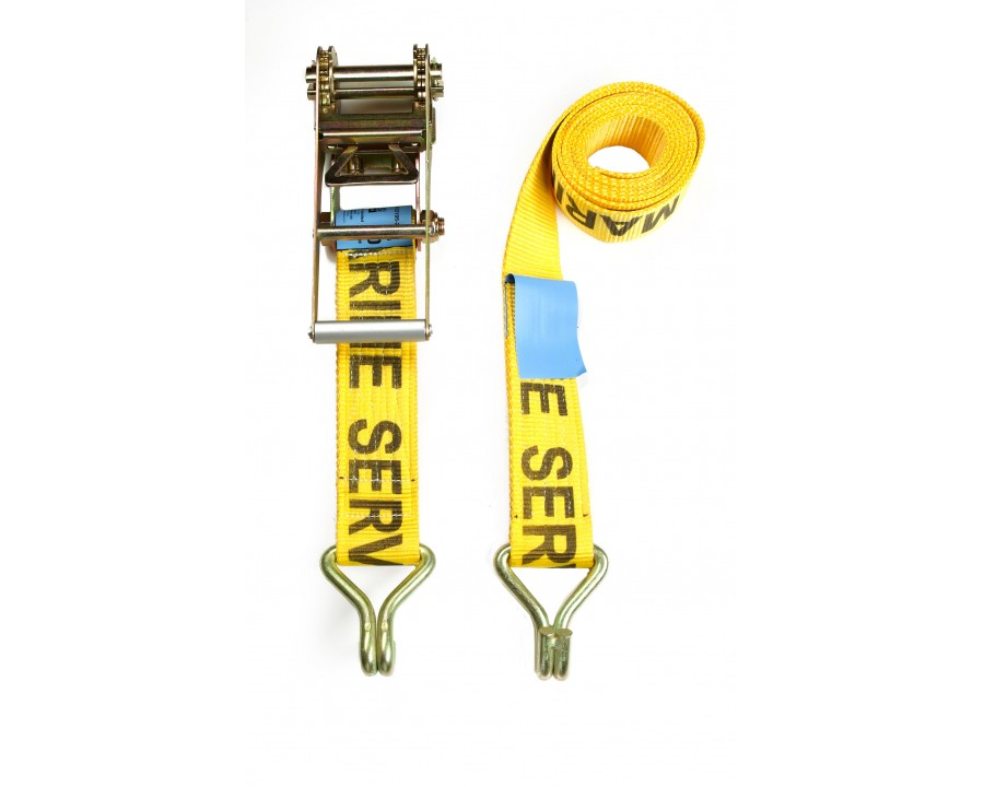 75mm Ratchet Strap - F/W Claw Hooks - MBS 10.0 Tonne
