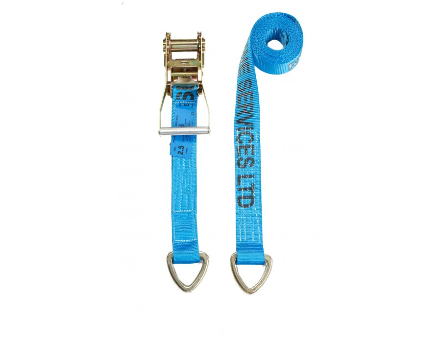 50mm Ratchet Strap - F/W Dee Links - MBS 5.0 Tonne