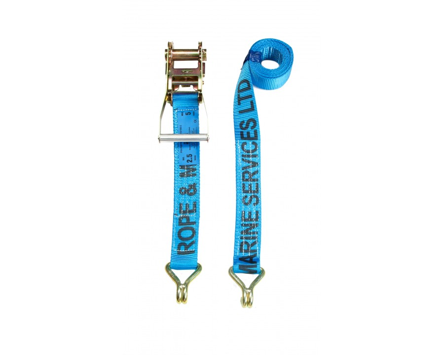 50mm Ratchet Strap - F/W Claw Hooks - MBS 5.0 Tonne