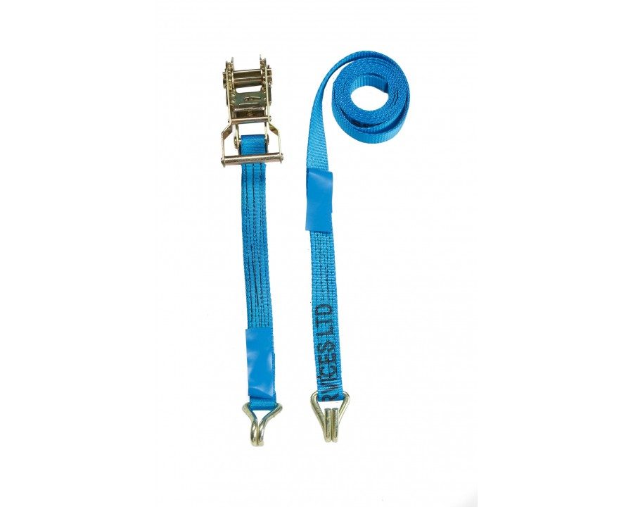 25mm Ratchet Straps - F/W Claw Hooks - MBS 1.4 Tonne