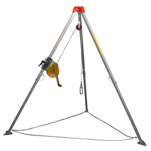 Safety Tripod Fitted with Winch (Optional)