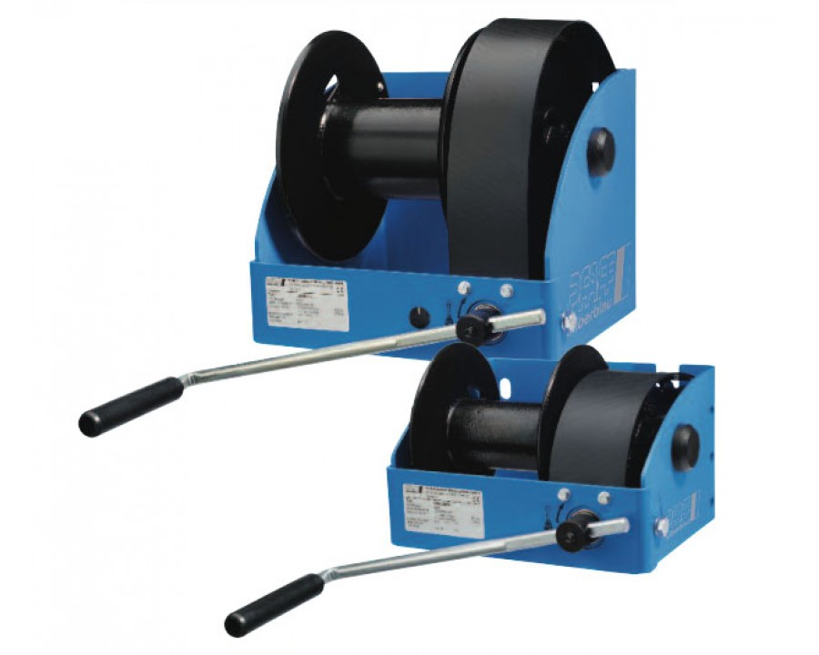 SW-W-SGO Wall Mounted Wire Rope Winches (WG)