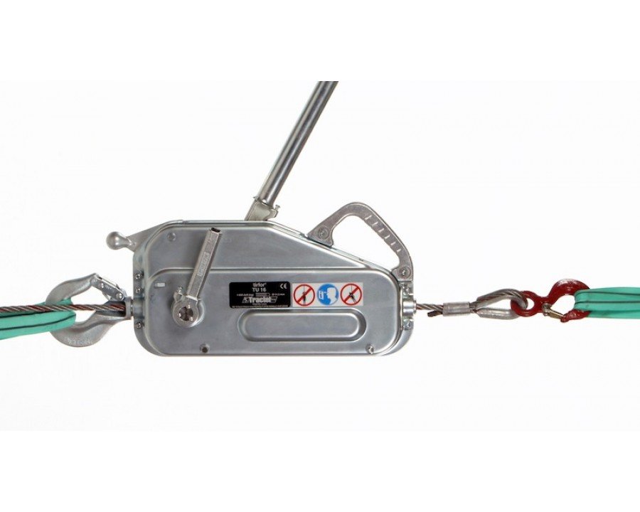 TIRFOR® TU series manual wire rope hoists