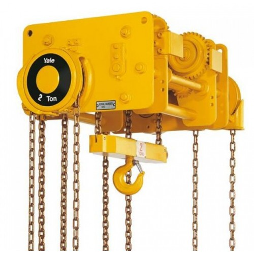 VNRP / VNRG Low Headroom Trolley Hoists