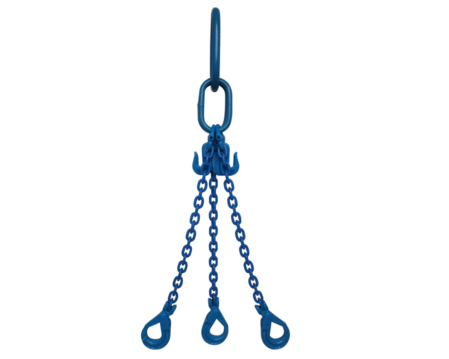 Yoke Grade 10 6mm Three Leg 2.9 Tonne Chain Sling