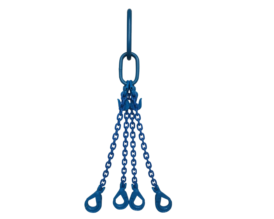 Yoke Grade 10 6mm Four Leg 2.9 Tonne Chain Sling
